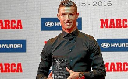 El astro portugués sigue acumulando premios.