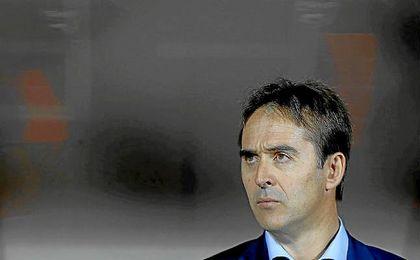 Julen Lopeteguir, seleccionador nacional de fútbol.