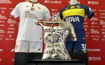 Sevilla F.C.-Boca Juniors: Síguelo en directo.