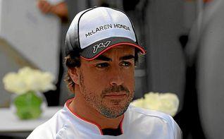 Alonso: ´Estoy contento, porque no era una crono fácil´