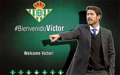 Víctor Sánchez, nuevo entrenador del Betis.