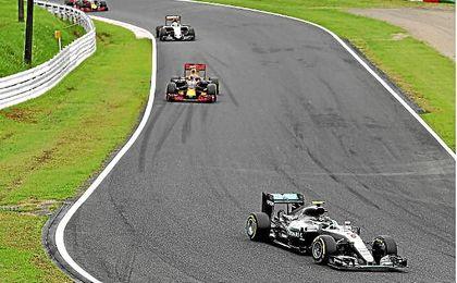 Rosberg lidera el Mundial de Fórmula 1.