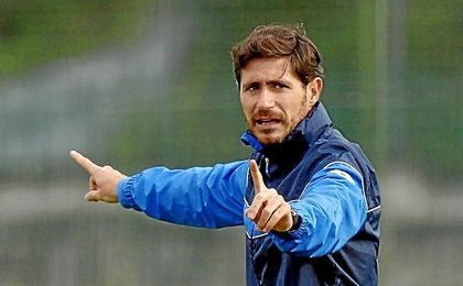 Víctor Sánchez del Amo, durante su etapa al frente del Deportivo.