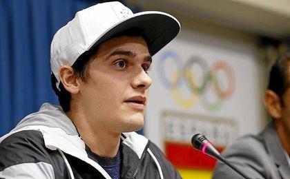 """El atleta nacido en Australia aseguró que se siente """"muy optimista""""."""