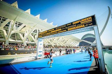 El Maratón de Valencia es el único por delante del Maratón de Sevilla.