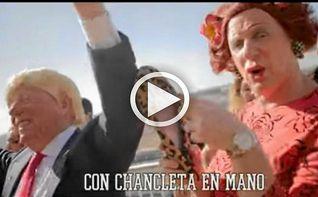 Antonia vs Trump, la nueva parodia de Los Morancos