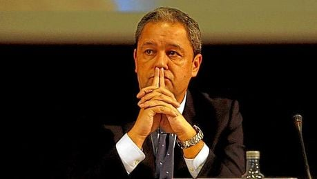 El presidente del Deportivo, Tino Fernández.