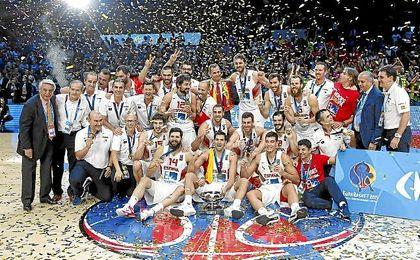 España defenderá el título.