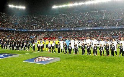 El Sevilla-Juventus ha sido declarado de alto riesgo.