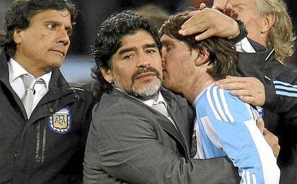 """""""El que entrena, trabaja y da la cara es el jugador, y si él no habla, que no hable nadie""""."""