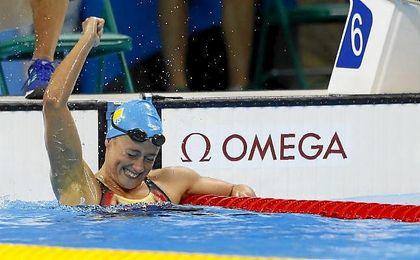 La nadadora ha hablado de su preparación para los Mundiales de 2017.