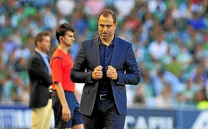 Esnáider entrenó al Getafe hasta el pasado mes de septiembre.