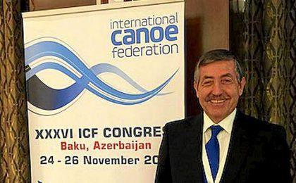El francés Tony Estanguet fue reelegido como vicepresidente.