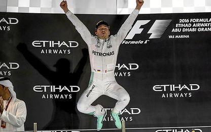 En la imagen, Nico Rosberg se proclama campeón del mundo.