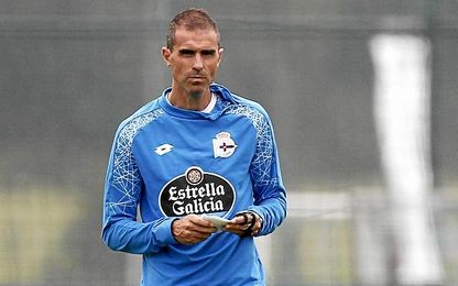 El entrenador del Deportivo.