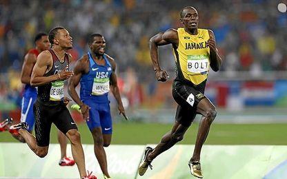 Bolt ya ha corrido con los colores del Borussia.