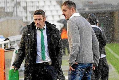 En la imagen, Luis Carrión (Izquierda) junto a Pablo Villa.