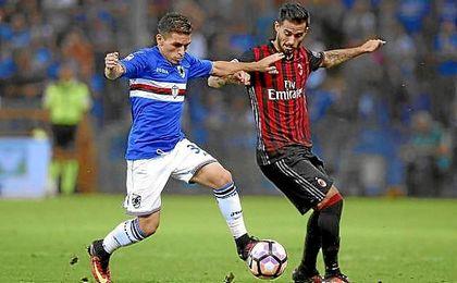 Lucas Torreira, joven mediocentro de la Sampdoria que se ha convertido en la revelación de la Serie A.