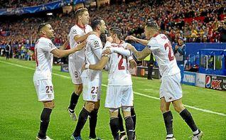 El gol, garantía sevillista en Lyon
