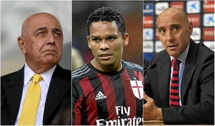 En el Milan se debaten si vender o no a Bacca en enero, Monchi está atento.