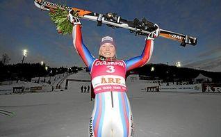 La francesa Tessa Worley gana el eslalon gigante de Maribor