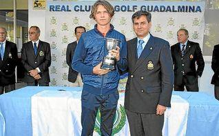 Marcus Svensson, brillante Campeón de la Copa Andalucía