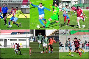 Resumen de los equipos sevillanos en la jornada 22 en Tercera división