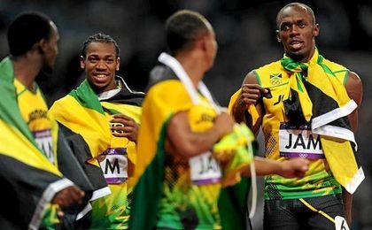Bolt pierde un oro de Pekín 2008