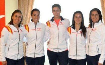 Muguruza, Arruabarrena, Sorribes y Martínez, equipo español para la República Checa