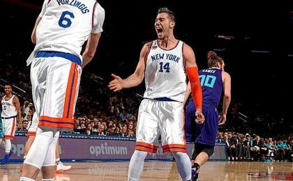 Willy Hernangómez estrena titularidad en la NBA con un doble-doble