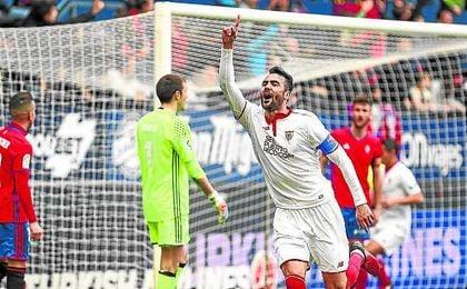 El capitán está feliz en Sevilla.