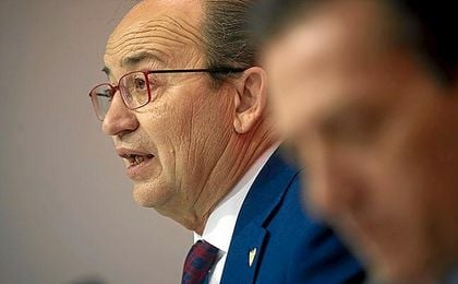 José Castro, en una rueda de prensa.