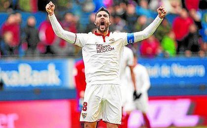 El Sevilla reacciona en las segundas partes.