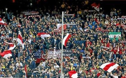 Imagen del Gol Norte del Sánchez Pizjuán.