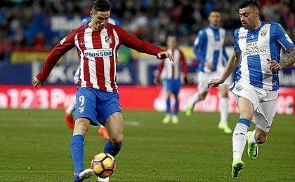 Torres marca el gol 4.500 del Atlético en Primera División
