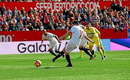 Nasri falló un penalti y poco después le anularon un gol a Ben Yedder.