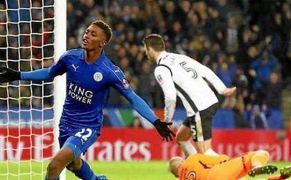 El Leicester sufre hasta la prórroga para eliminar al modesto Derby County