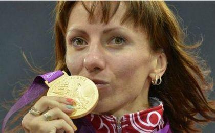 Savinova consiguió la medalla de oro en Londres 2012.