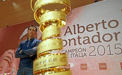 Contador ganó el Giro de Italia en 2015.