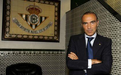 El exconsejero delegado del Real Betis, Luis Oliver. UESyndication.