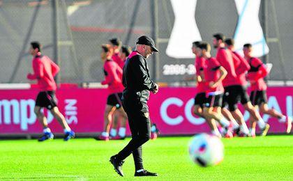Se vuelve a apretar el calendario para el Sevilla.