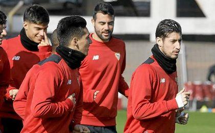 Escudero vuelve a la lista de convocados con el Sevilla.