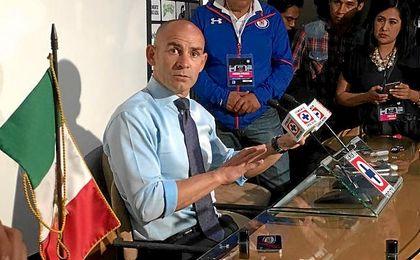 El español Paco Jémez, en sala de prensa.