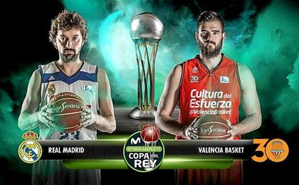 El Valencia Basket reta al Real Madrid en una final inédita