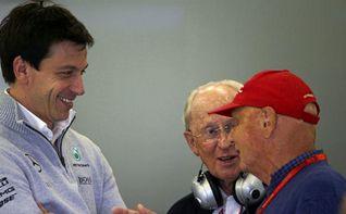 Mercedes prorroga los contratos de Wolff y Lauda
