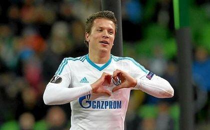 Konoplyanka ha hecho seis goles con el Schalke.