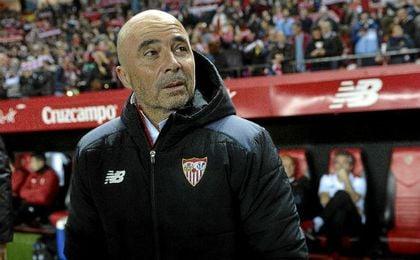 Sampaoli, técnico del Sevilla Fútbol Club.