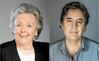 El poeta Luis García Montero y la actriz María Galiana, Hijos Predilectos de Andalucía 2017