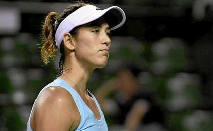 Garbiñe Muguruza se retiró del torneo de tenis de Dubai.
