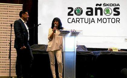 20 Aniversario de Cartuja Motor, concesionario oficial Skoda en Sevilla y Huelva del Grupo Avisa